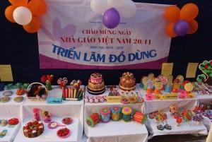 Hội giảng và triển làm đồ dùng đồ chơi của trường DreamHouse chào mừng ngày 20-11