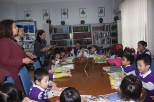 Cùng tham quan trung tâm văn hóa nga với các bé  Trường mn dream house nhé!