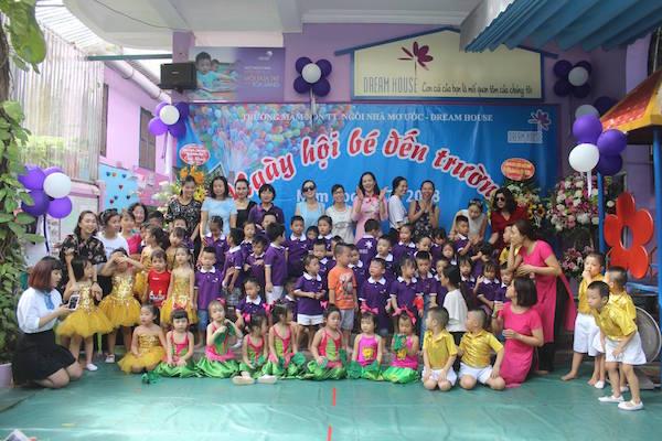 Ngày hội bé đến trường 2017 - 2018