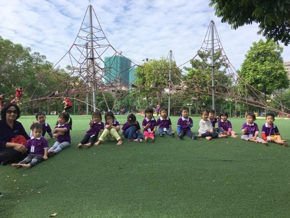 Ghé thăm công viên Cầu Giấy của các bạn nhỏ trường Dreamhouse